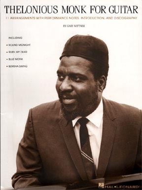 Thelonious Monk for Guitar book image