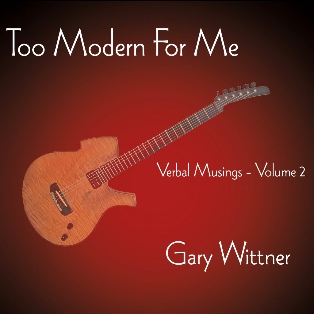 Too Modern for Me cd cover